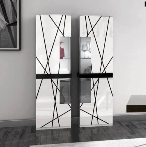 Stripes Vitrine, Planum Furniture Italy