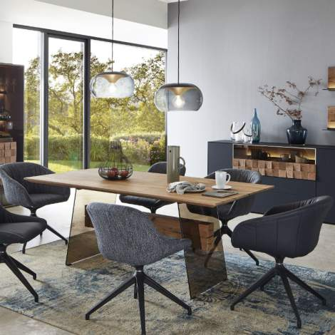 Liv Dining Table 1522, Planum Furniture Italy