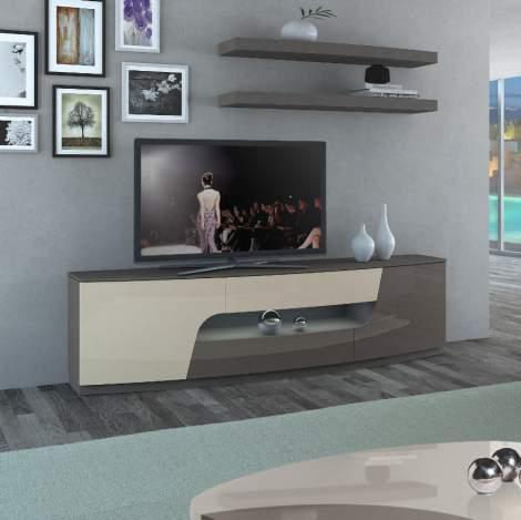 Valentino Media Cabinet, Planum Furniture Italy