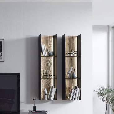 Talis Wall Hanging Rack, Planum Furniture Italy
