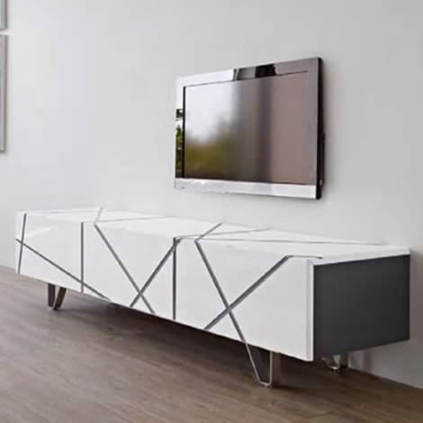 Stripes Media Cabinet, Planum Furniture Italy