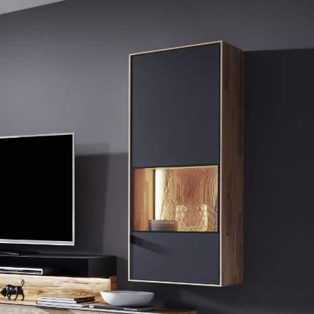 Talis Wall Hung Display Cabinet 7055/7056, Planum Furniture Italy