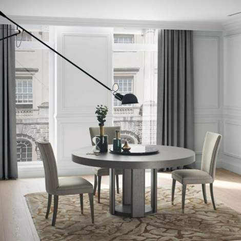 Riviera Round Extension Dining Table, Planum Furniture Italy