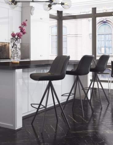 Aki Bar Chair (Set of 2), Zuo Modern