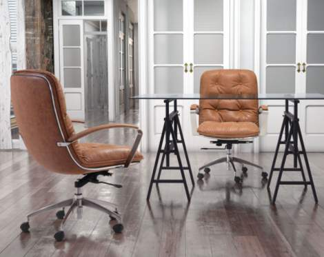 Avenue Office Chair, Zuo Modern