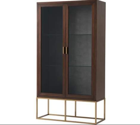 Moore Display Cabinet, Theodore Alexander