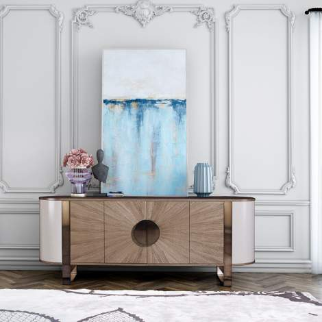 Eclipse Office Credenza, Planum Furniture Italy