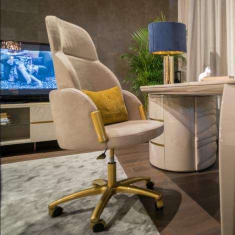 Gatsby Swivel Chair, Planum Furniture Italy