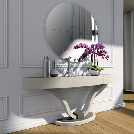 Valentino Round Mirror, Planum Furniture Italy