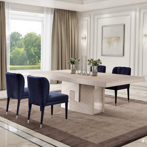 Topaze I Rectangular Extension Dining Table, Planum Furniture Italy
