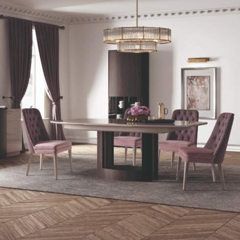 Curve Extension Dining Table, Planum Furniture Italy