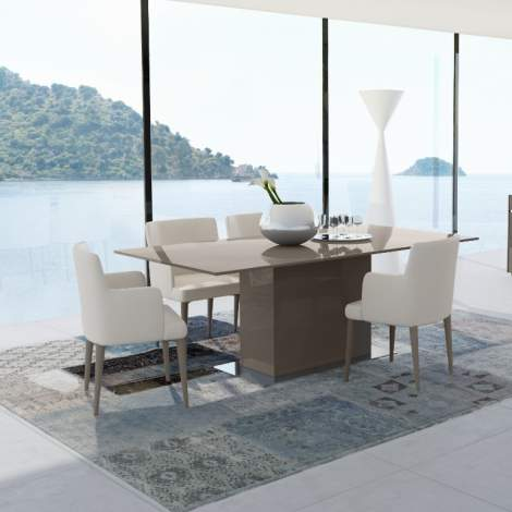 Mediale Rectangular Fixed Top Dining Table, Planum Furniture Italy