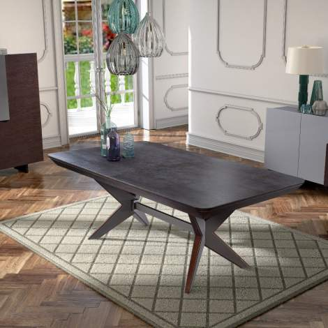 Assemblage Rectangular Extension Dining Table, Planum Furniture Italy