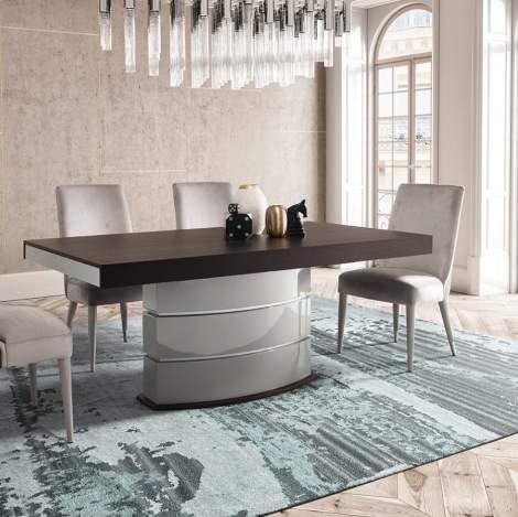 City Gaudi Rectangular Extension Dining Table, Planum Furniture Italy