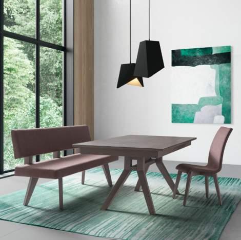 City Novik Rectangular Extension Dining Table, Planum Furniture Italy