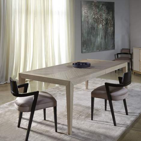 Couture Rectangular Extension Dining Table, Planum Furniture Italy