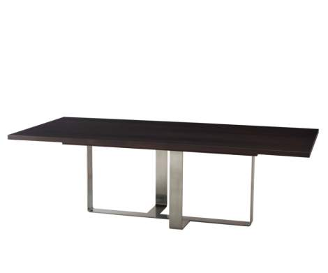 Adley Rectangular Dining Table, Theodore Alexander