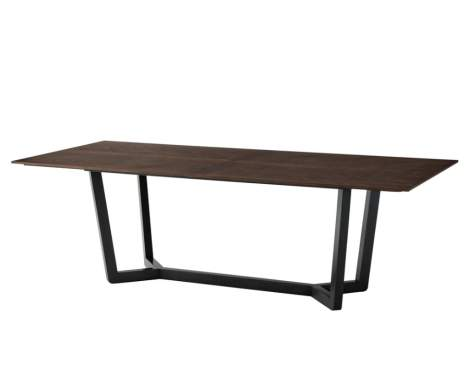 Edwin Rectangular Dining Table, Theodore Alexander