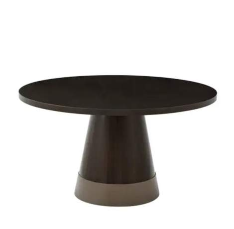 Small Huett Cuthbert Round Dining Table, Theodore Alexander