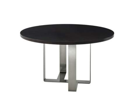 Ayman Round Dining Table, Theodore Alexander