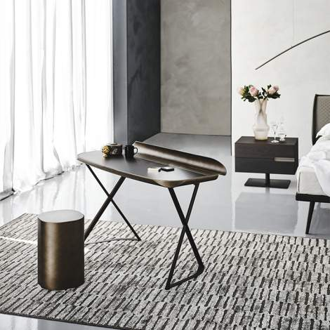 Cocoon Leather Desk, Cattelan Italia