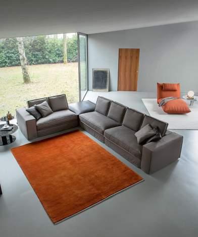 Santorini Modern Sofa-Sectional, Alberta Italy