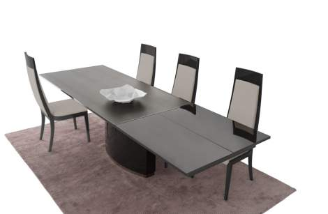 Valentino Rectangular Extension Dining Table, Planum Furniture Italy