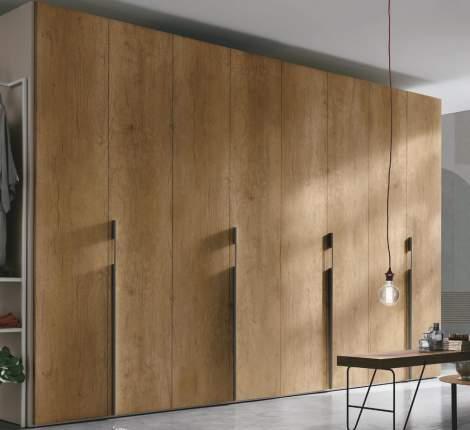 Liscia Leaf Doors Armoire, Tomasella Italy
