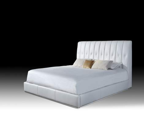 Aurora Eastern King Sized Bed, Planum Furniture Italy
