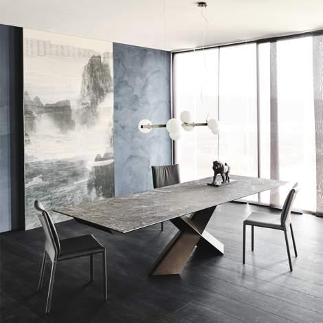Tyron Keramik Drive Table, Cattelan Italia