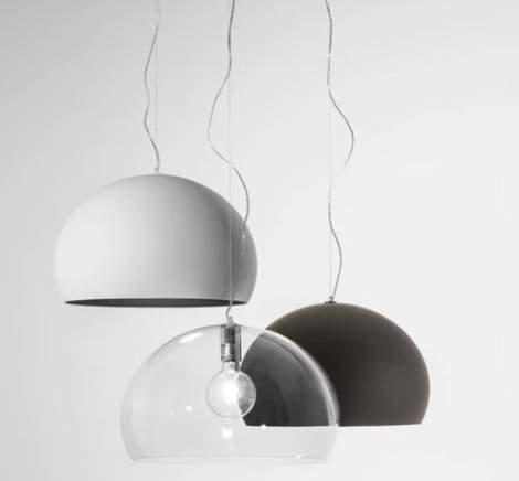 FLY Small Ceiling Lamp, Kartell Italy