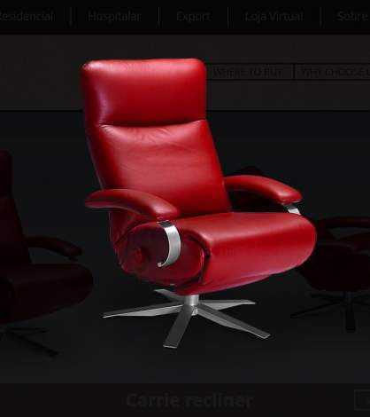 Carrie Recliner, Lafer