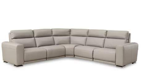Charlotte Sectional with Electric Recliners, Chateau D'ax