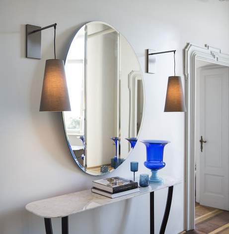 Joan Small Mirror, Alberta Italy