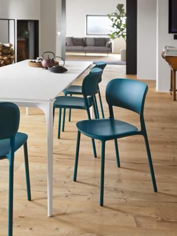 CS/2028 Sneak Dining Chairs, Calligaris Italy
