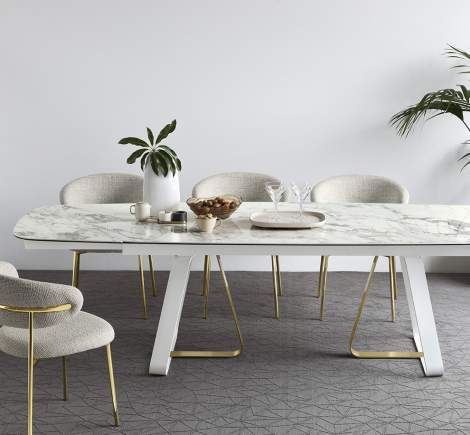 CS/4128-S 200 Sunshine Dining Table, Calligaris Italy