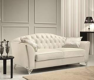 Divina Leather Sofa