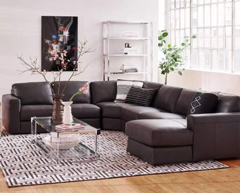 Isabella Sectional, Chateau D'ax