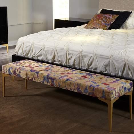 Juliana Upholstered Bench, Planum Furniture Italy