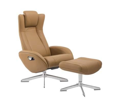 Maya Chair and Ottoman