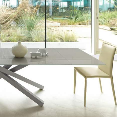 Pechino All Extendible Dining Table, Midj Italy