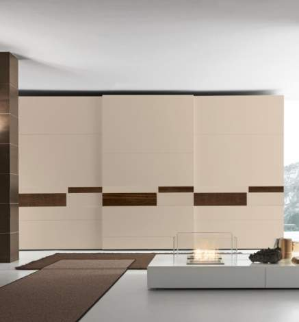 Split Wardrobe With Sliding Door, Presotto Italy
