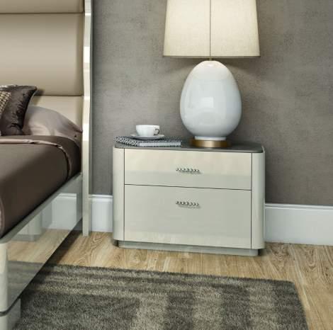 Verona Nightstand, Planum Furniture Italy