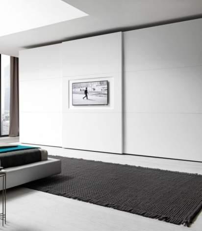 Tris You Tv Wardrobe With Sliding Door,Presotto Italy