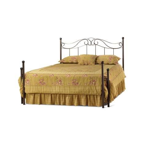 Cecilia Regular Open Footboard Bed, Amisco Canada