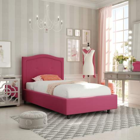 Crocus Upholstered Kids Bed, Amisco Canada