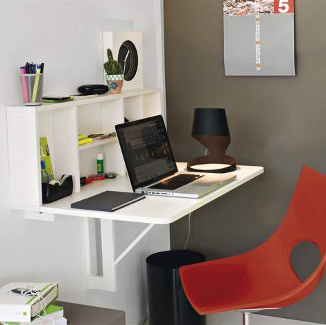 CB/4061 Spacebox Drop-Leaf Table, Connubia by Calligaris Italy