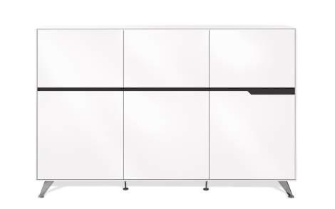 # 496 6-Doors Storage Cabinet, Unique 400 Collection