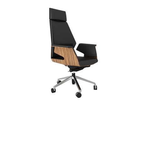 Zebrano Excecutive Chair, Unique Office Seating Collection