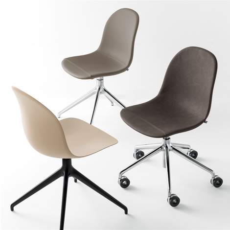 CB/1694 Academy Office Chair, Connubia by Calligaris Italy